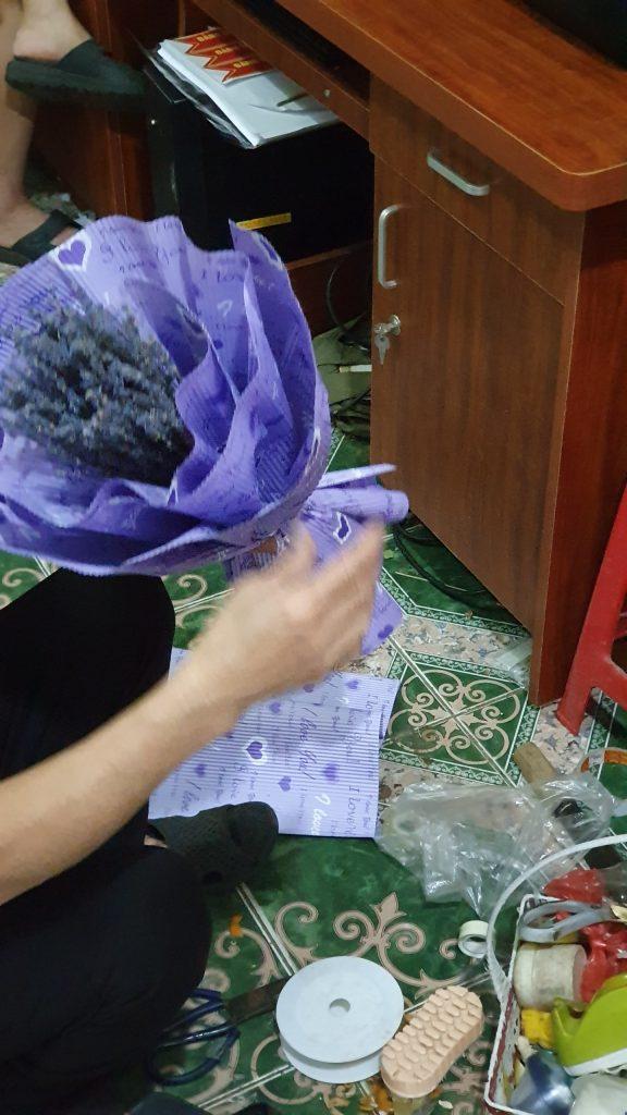 Xu Hướng Chuọng Hoa Khô Lavender 2